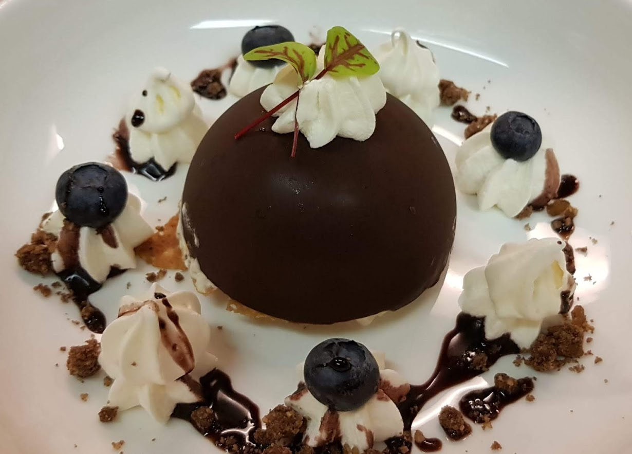 Semi Freddo Italiaans dessert